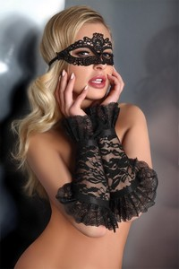 Livia Corsetti Gloves black model 13 lc 28011 gloves