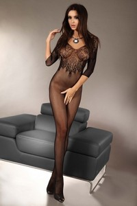 Livia Corsetti Josslyn black lc 17117 bodystocking