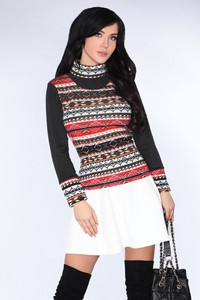 Sweter CG013 Black, Merribel